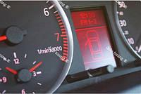 Кольца на приборы Audі A6 стиль RS6 Матовые