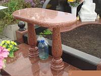 Стол на могилу из гранита № 467