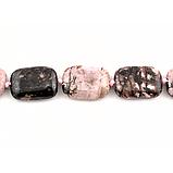 Родоніт орлец, намисто, 176БСР, фото 3