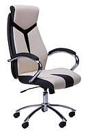 Кресло для руководителя Прайм бежевое