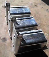 Кронштейн сканрок (опорный стульчик) 80х100х50х1,5