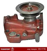 Насос водяной Д-260.1, Д-260.2 (1-но руч) (без термодатчика) МТЗ-1221, 1523, КЗС-81 | 260-1307116-02