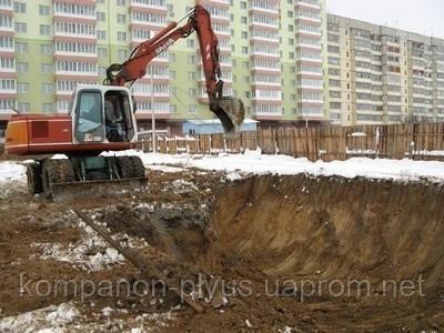 Земляные работы  Киев (067) 447 5221