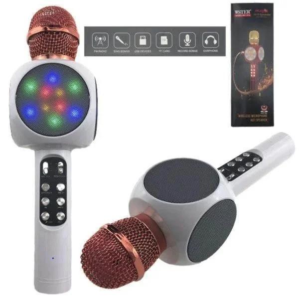 Мікрофон для домашнього караоке бездротовий