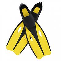Ласти для плавання BW 27022 розмір 38-39 , в сітці (Жовтий)