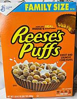 Сухой завтрак с арахисовой пастой Reese's Puffs, фото 1