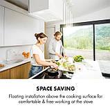 Кухонна витяжка острівна klarstein, фото 3