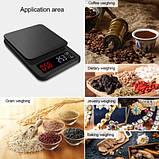 Профессиональные кухонные весы с таймером Yieryi 3000гр, фото 3