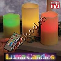 Светодиодные LED свечи Luma Candles с пультом , фото 1