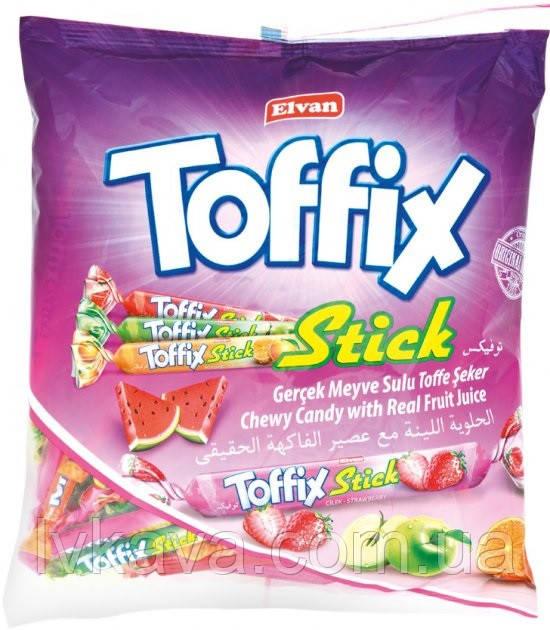 Жувальні цукерки Toffix STICK , 1000 гр