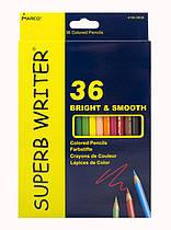 Олівці кольорові Marco Superb Writer,36 кольорів шестигранні 4100-36CB