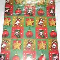 Бумага упаковочная Рождество