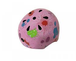 Шолом дитячий світло-фіолетовий кольоровий Calibri FSK-503L