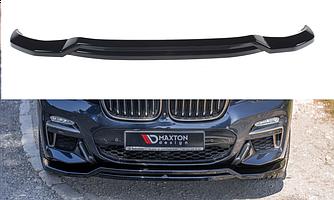Сплиттер BMW X4 G02 M Sport элерон тюнинг обвес