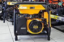 Бензиновая электростанция Rato R6000W (6 кВт, колёса)