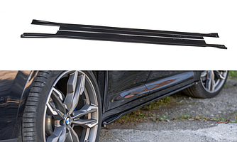 Пороги BMW X4 G02 M Sport элерон тюнинг обвес