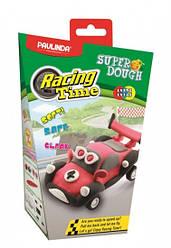 Дитячий набір для ліплення з пластиліну Super Dough Racing time Машинка (червона), інерційний механізм,