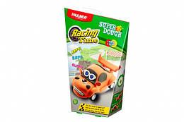Дитяча маса для ліплення Super Dough Racing time Машинка (помаранчева), інерційний механізм, Паулинда