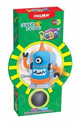 Дитячий набір для ліплення з пластиліну Super Dough Робот, заводний механізм (блакитний), Паулинда