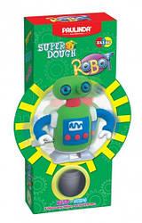 Дитячий набір для ліплення з пластиліну Super Dough Робот, заводний механізм (зелений), Паулинда