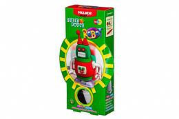 Дитячий набір для ліплення з пластиліну Super Dough Робот, заводний механізм (червоний), Паулинда