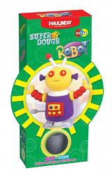 Дитячий набір для ліплення з пластиліну Super Dough Робот, заводний механізм (фіолетовий), Паулинда