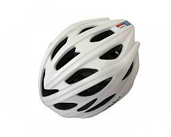 Велошолом білий Calibri 450