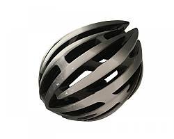Велошолом чорно-білий Calibri TX97