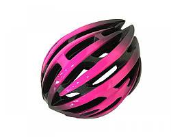 Велошолом чорно-рожевий Calibri TX97