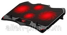 """Підставку-кулер для ноутбука HAVIT HV-F2081 (14-17""""), USB, black, підсвітка"""