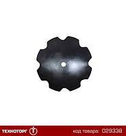 Диск бороны (ромашка) (D=650мм, круг 46мм) БДТ (Бор) (Велес-Агро)   БДЮ 01.405