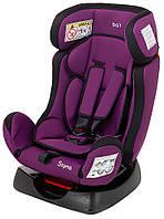 Автокресло Bair Sigma черный - фиолетовый