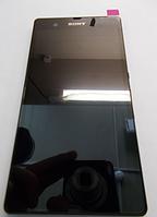 Оригинальный дисплей (модуль) + тачскрин (сенсор) с рамкой для Sony Xperia Z C6602 C6603 C6606 L36a L36i L36h