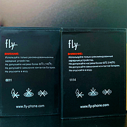 Акумулятор (батарея) Fly IQ454 Evo Tech 1 BL3807 Original