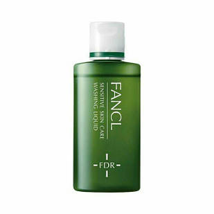 FANCL FDR sensitive skin care washing liquid рідина для вмивання особи, для чутливої шкіри 60 мл