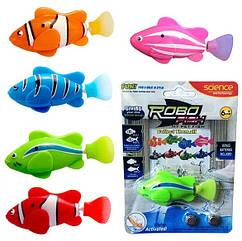 Интерактивная игрушка рыбка робот для аквариума на батарейках Robofish Роборыбка