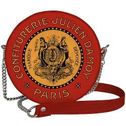 Сумка кругла жіноча Tablet Confiturerie Julien Damoy Paris (RS_21M015_KR)