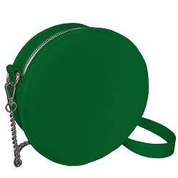 Сумка кругла жіноча Tablet зелена (RS1_IZ)