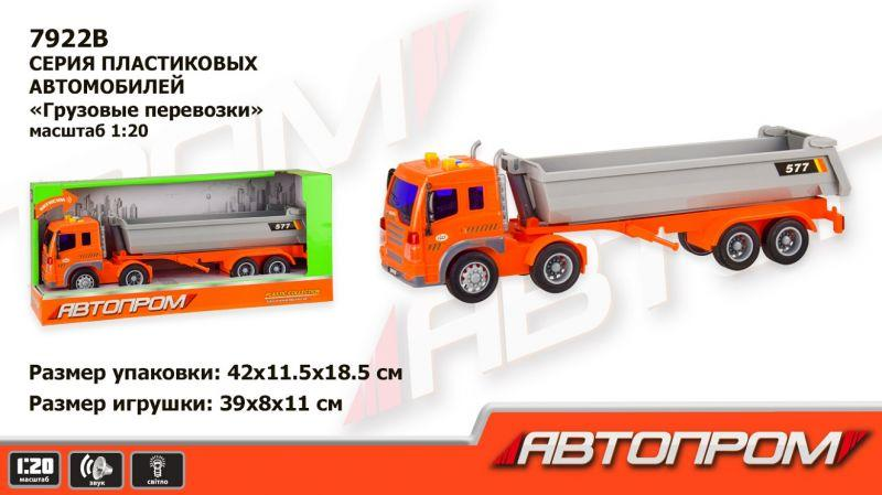Машинка Автопром 7922B