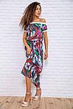 Сукня 167R1-7 колір Разноцвет, фото 3