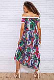 Сукня 167R1-7 колір Разноцвет, фото 4