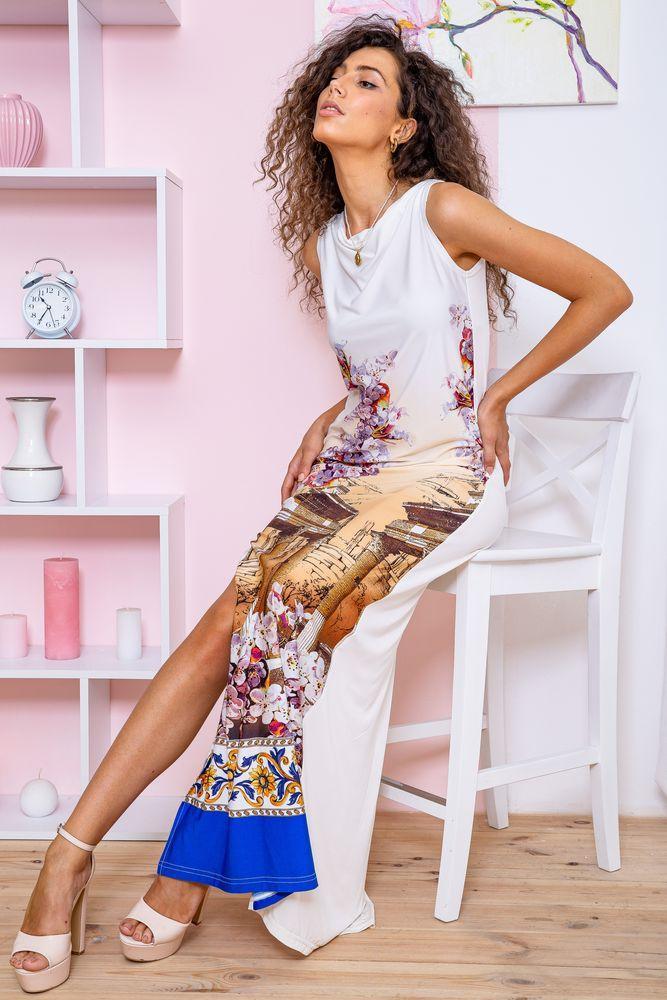 Платье 167R38-5 цвет Молочно-бежевый