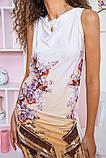 Платье 167R38-5 цвет Молочно-бежевый, фото 4