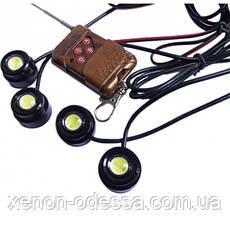 Стробоскопы COB LED DRL 4 канала (16 режимов), фото 3