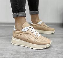 Летние женские кроссовки на платформе