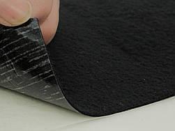 Антискрип М1 Черный (25х100см), толщина 1.0 мм, прокладочный материал Маделин