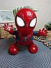 Интерактивная игрушка SUNROZ Dance Super Hero танцующий робот Spider-Man, фото 4