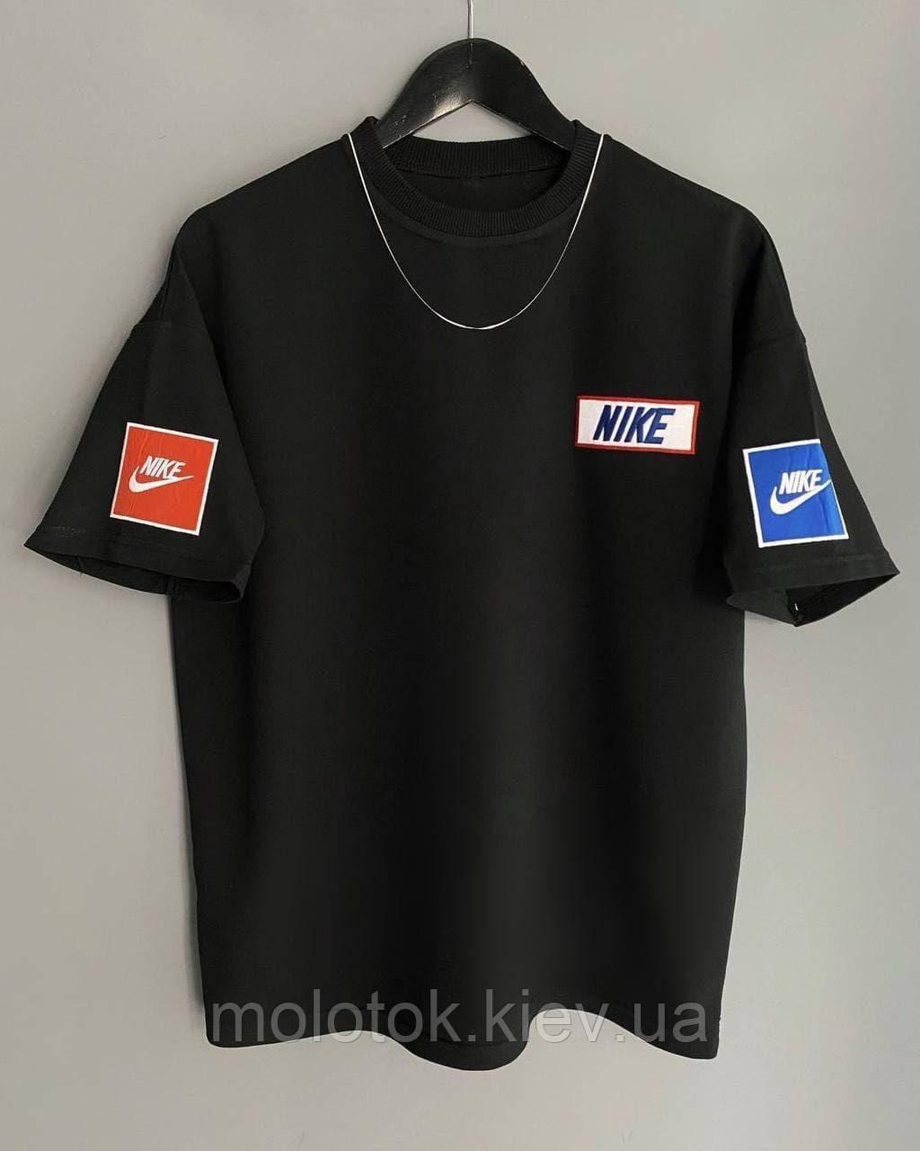 Мужская футболка Nike черная Турция
