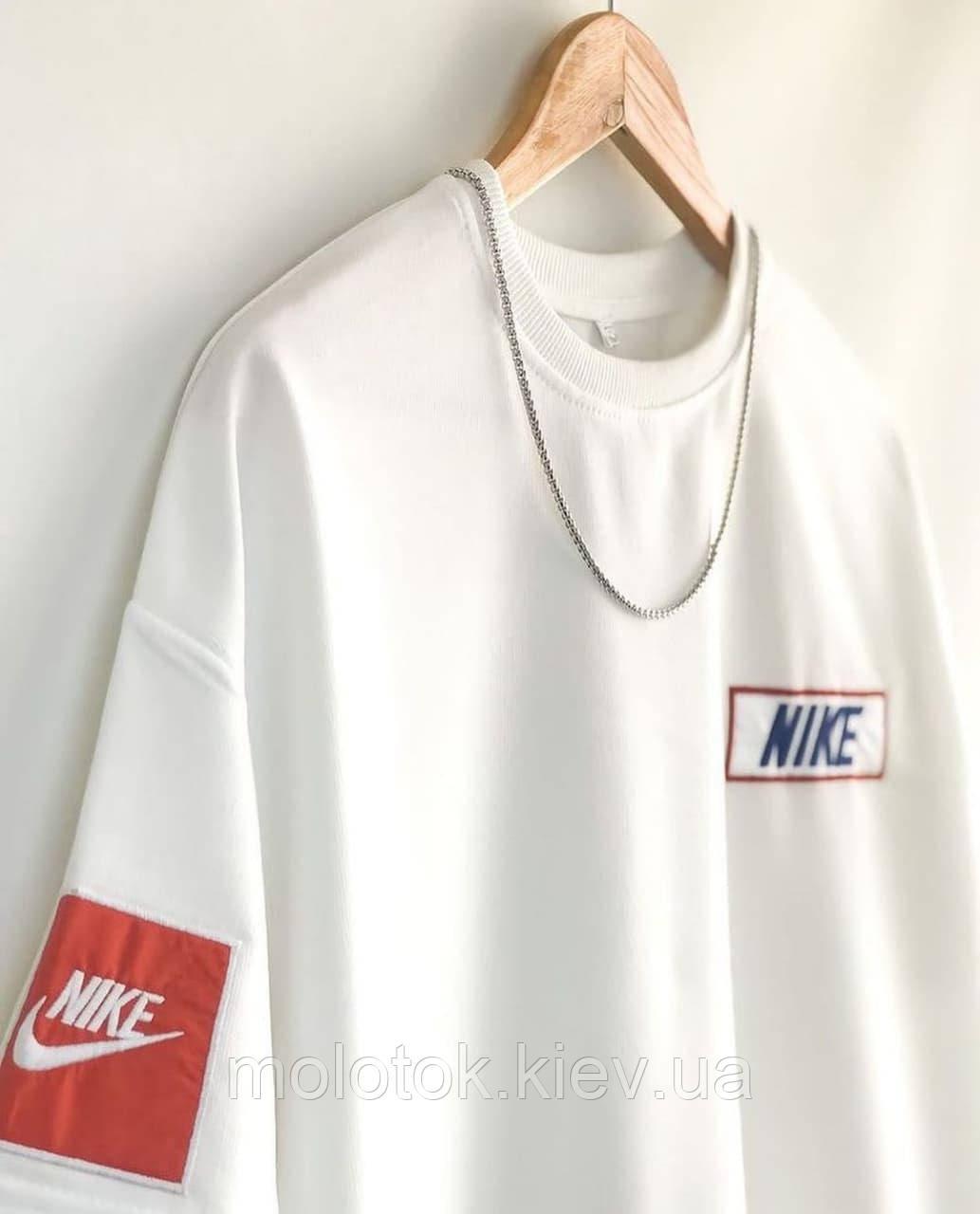 Мужская футболка Nike белая Турция