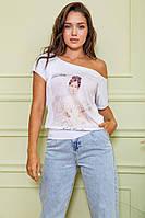 Модные женские футболки S